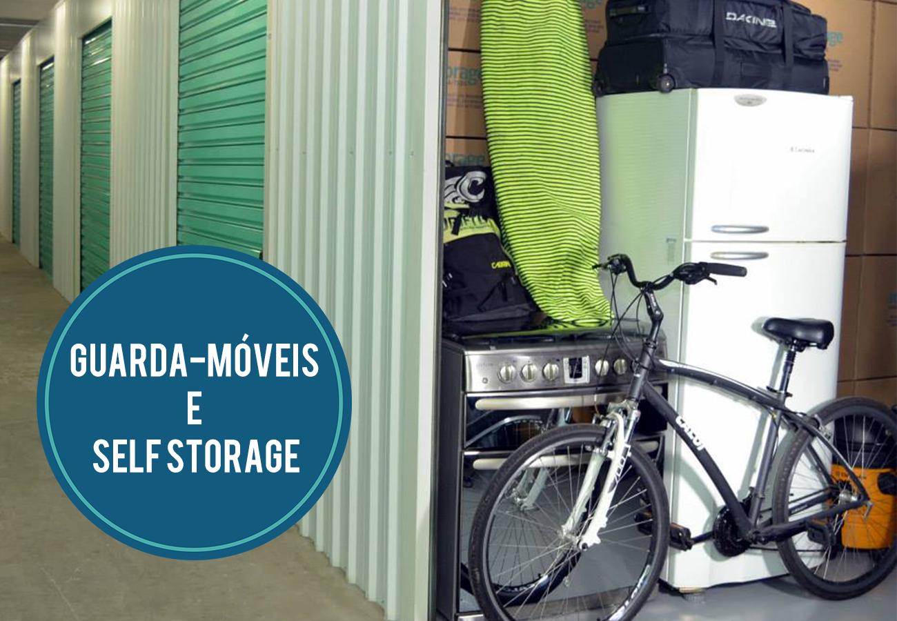 Banner Diferenças: Guarda móveis e Self Storage