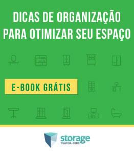 Ebook Dicas de organização para otimizar os seus espaços