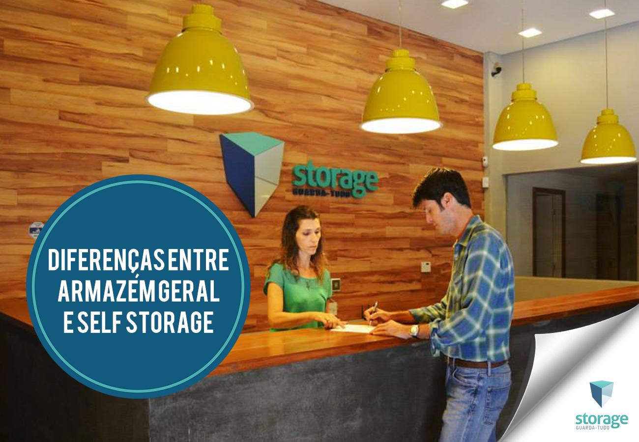 7 diferenças entre Armazém Geral e Self Storage