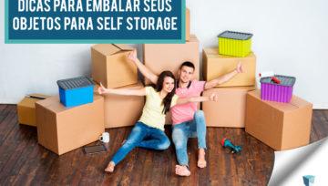 Como embalar seus objetos pessoais para guardar em um Self Storage?