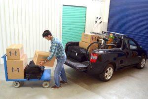 Área de Carga e Descarga - Storage Guarda-Tudo - Guarda Móveis e Self Storage