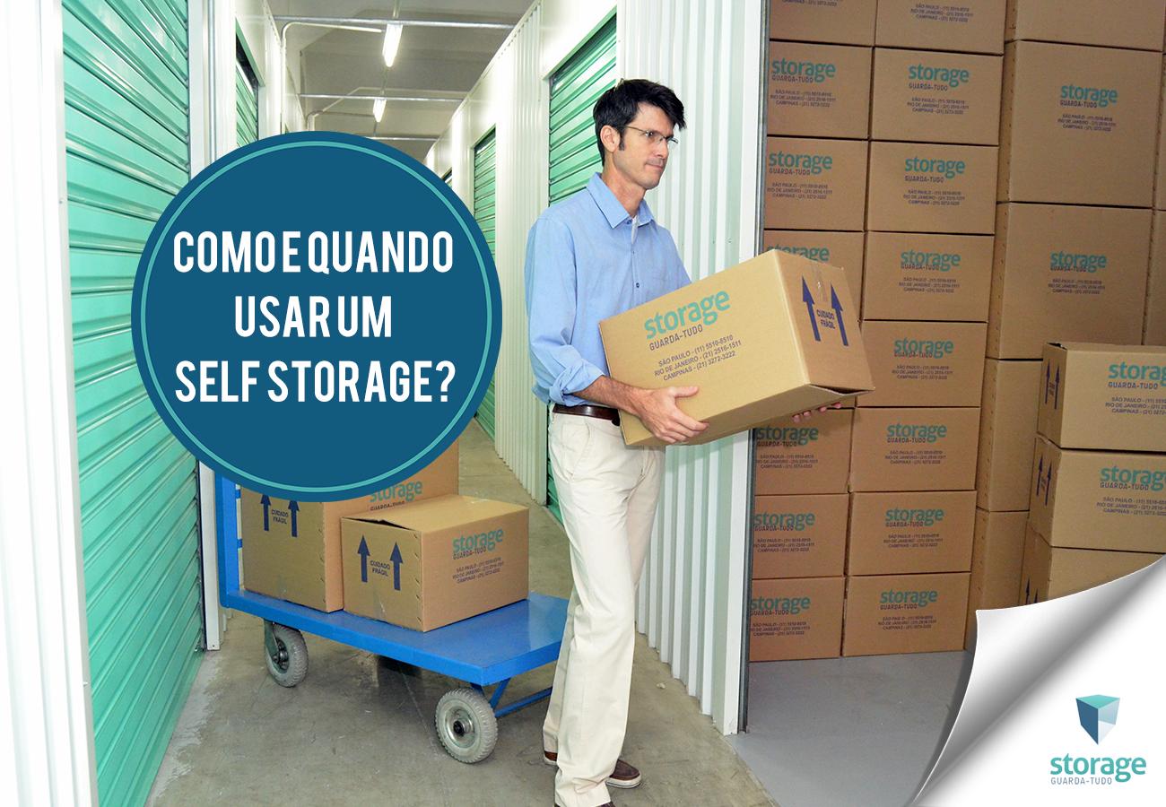 Banner Como e Quando usar Self Storage