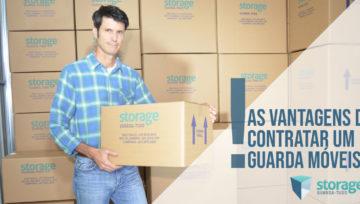 As vantagens de contratar um guarda móveis