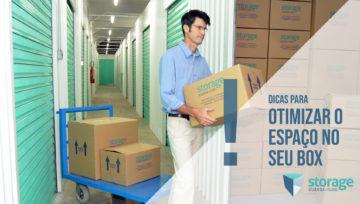 Self Storage - Dicas para otimizar o espaço no seu box