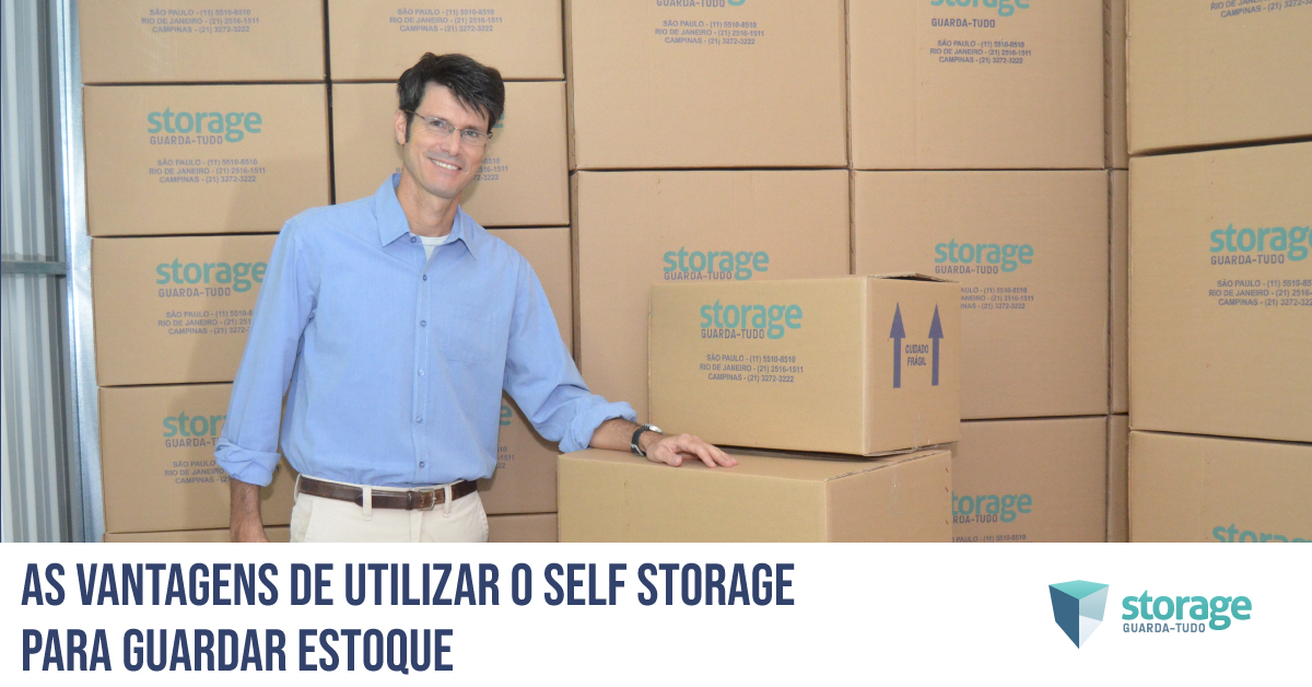 vantagens do self storage para guardar estoque