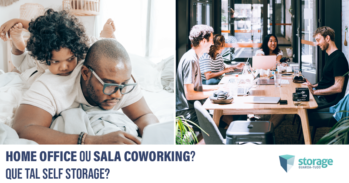 self storage para home office ou coworking