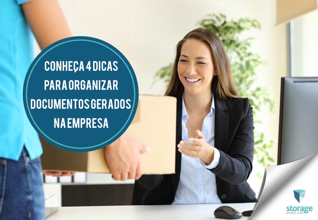 Conheça 4 dicas para organizar documentos gerados na empresa