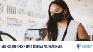 Como estabelecer uma rotina na pandemia