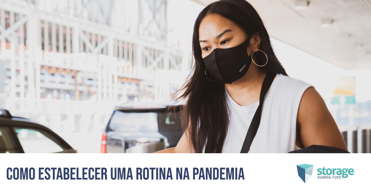 estabelecer rotina na pandemia